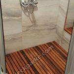 Ahşap Duş Küvet İroko Deck