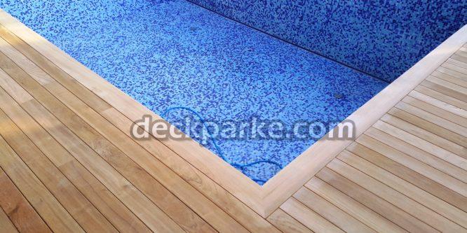 Havuz Kenarı Ahşap Uzun Boy Deck Kaplama