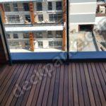 Ahşap Balkon Kaplama Villa Uygulaması