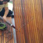 Teak Ahşap Deck Balkon Montajı