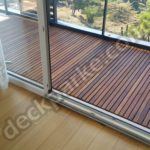 İroko Wood Deck Balcony