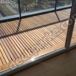 Teak Decking Balkon Zemini Ahşap Döşeme Montajı