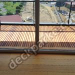 Teak Wood Balcony Deck