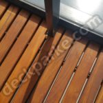 Balcony Deck Teak Wood